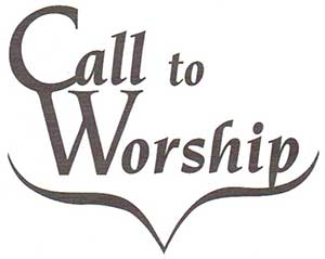 Call to Worship Journal