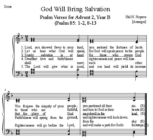 God Will Bring Salvation
