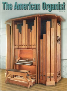 """July 2016 - """"The American Organist"""""""