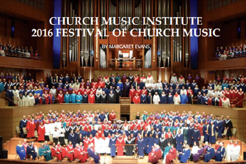 CMI Festival of Church Music Featured in The American Organist, Feb 2017